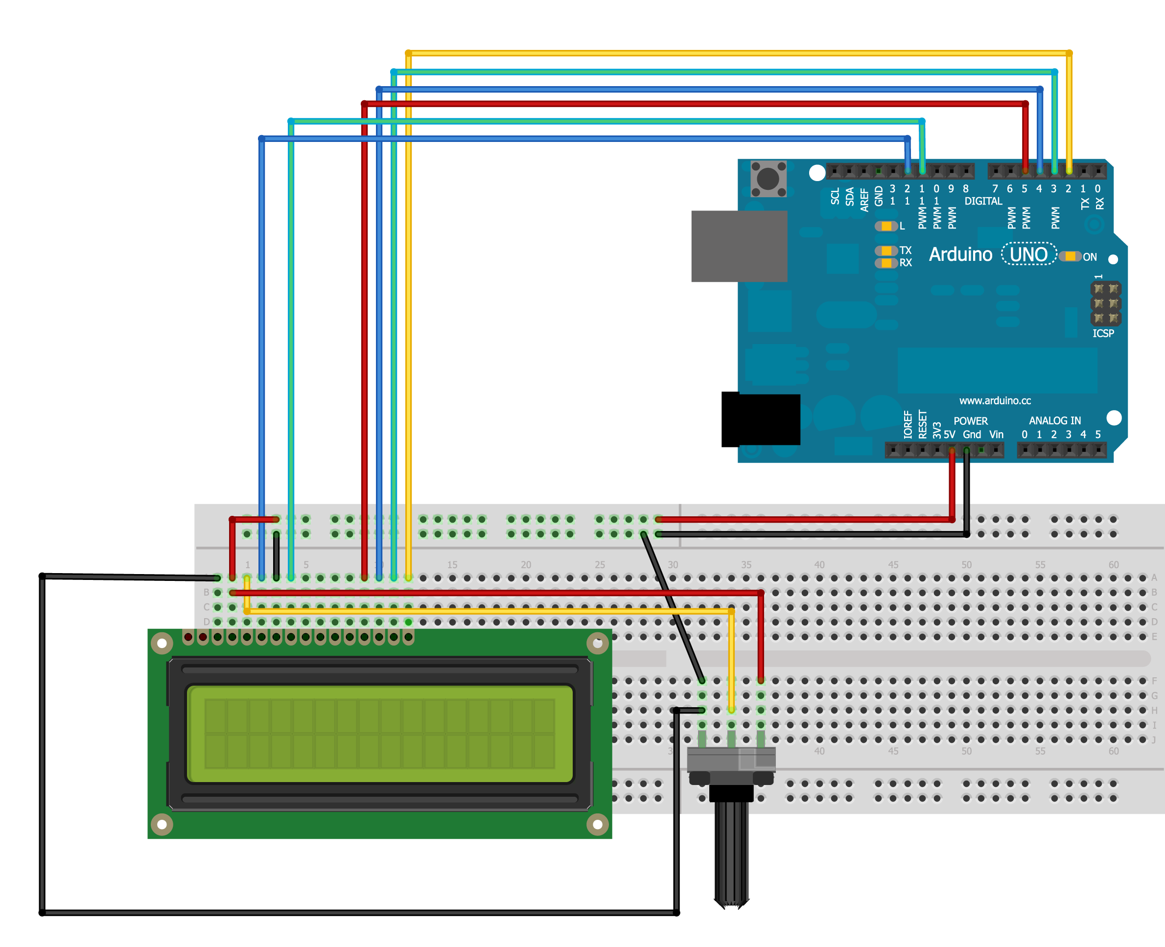 Arduino and Liquid Crystal Display LCD - Arduitronics