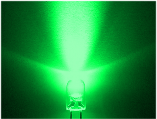 LED Verde de Alto Brilho 5mm