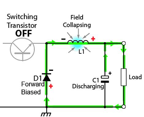 circuito-conversor-abaixador-chaveamento-desligado
