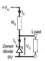 circuito-basico-regulador-tensao-shunt
