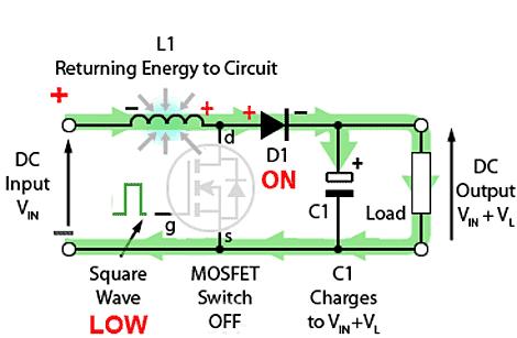 circuito-basico-conversor-amplificador-desligado