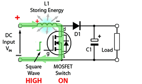 circuito-basico-conversor-amplificador-ligado