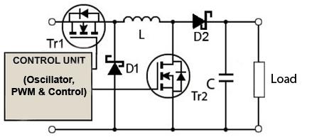 circuito-basico-conversor-buck-boost